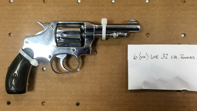 A Smith & Wesson .32 Long CTG was one of the weapons seized by police. (Hartford Police Department)
