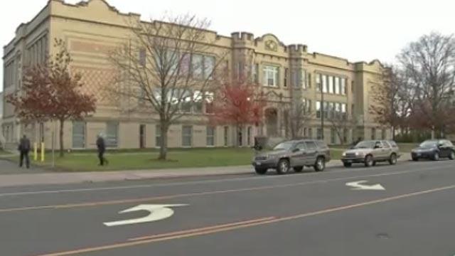 Burr School (WFSB file photo)