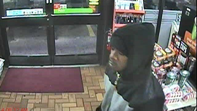 Police released this photo of the attempted robbery suspect. (Manchester Police Department)