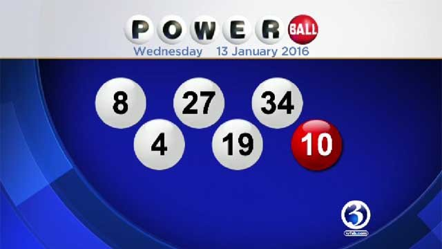 Winning numbers announced for $1.5 billion Powerball jackpot (WFSB)