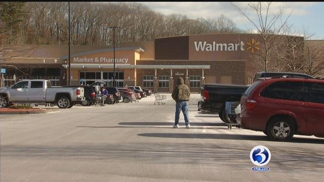 Walmart in Naugatuck was evacuated for a bomb threat. (WFSB)