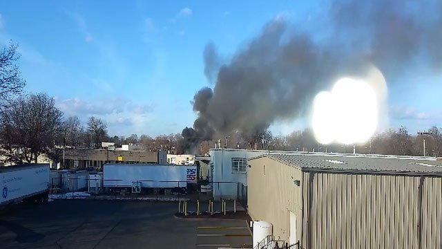Fire was reported on School Street in East Hartford. (iWitness)