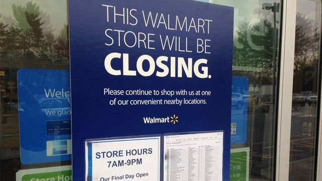 The WalMart  location in Bishops Corner, which is located on North Main Street, is the only Connecticut store to close(WFSB file photo)