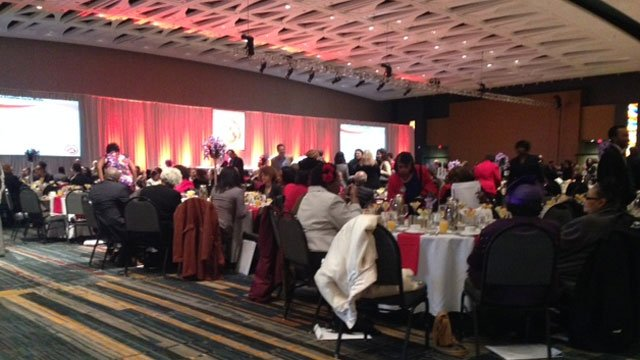 The Hartford Alumnae Chapter of Delta Sigma Theta, Inc. holds its 31st annual Dr. Martin Luther King, Jr. Scholarship breakfast. (WFSB)