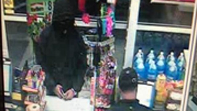 "Police are searching for two ""dangerous men"" in armed robbery. (Fairfield Police Department)"