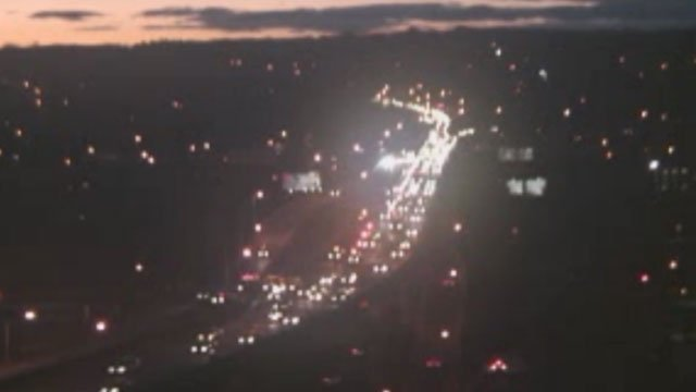 A crash is causing backup on I-84 in Waterbury near exit 22. (DOT)