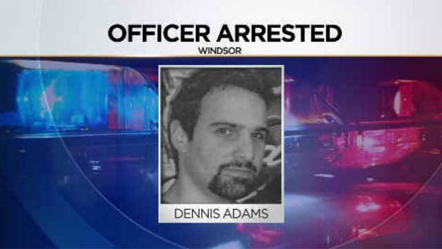 Officer Dennis Adams will face a judge Thursday afternoon (WFSB)
