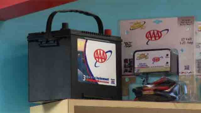 AAA offers tips to be prepared on the road during a winter storm (WFSB)