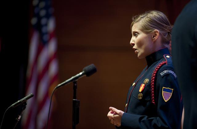Musician 1st Class Megan Weikleenget (USCG Photo)