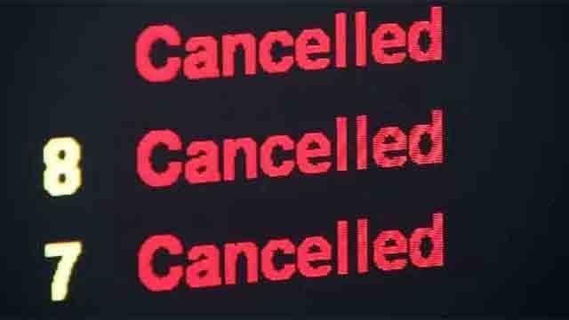 Flights canceled at Bradley ahead of weekend snowstorm (WFSB)