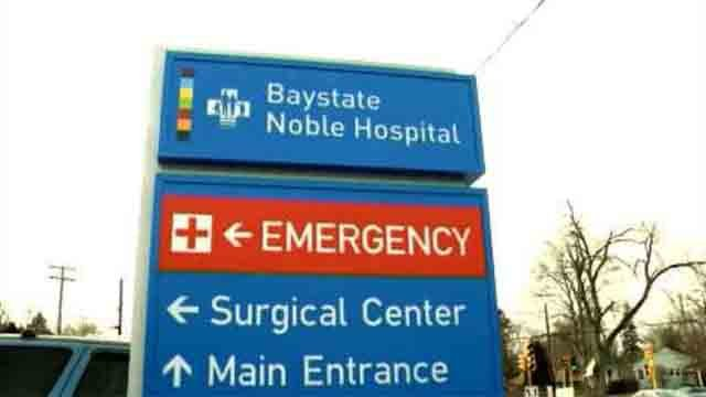 Baystate Noble Hospital in Westfield said nearly 300 people were potentially exposed during procedures between June of 2012 and April of 2013. (WFSB)