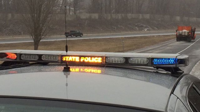 State police are out helping with DOT crews. (CT State Police Twitter)