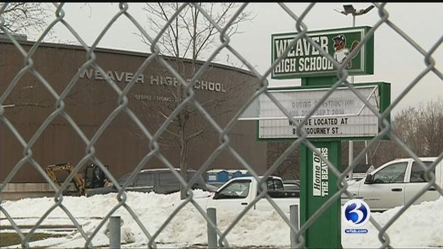 Weaver High School is under renovation and basketball team needs a place to play. (WFSB)
