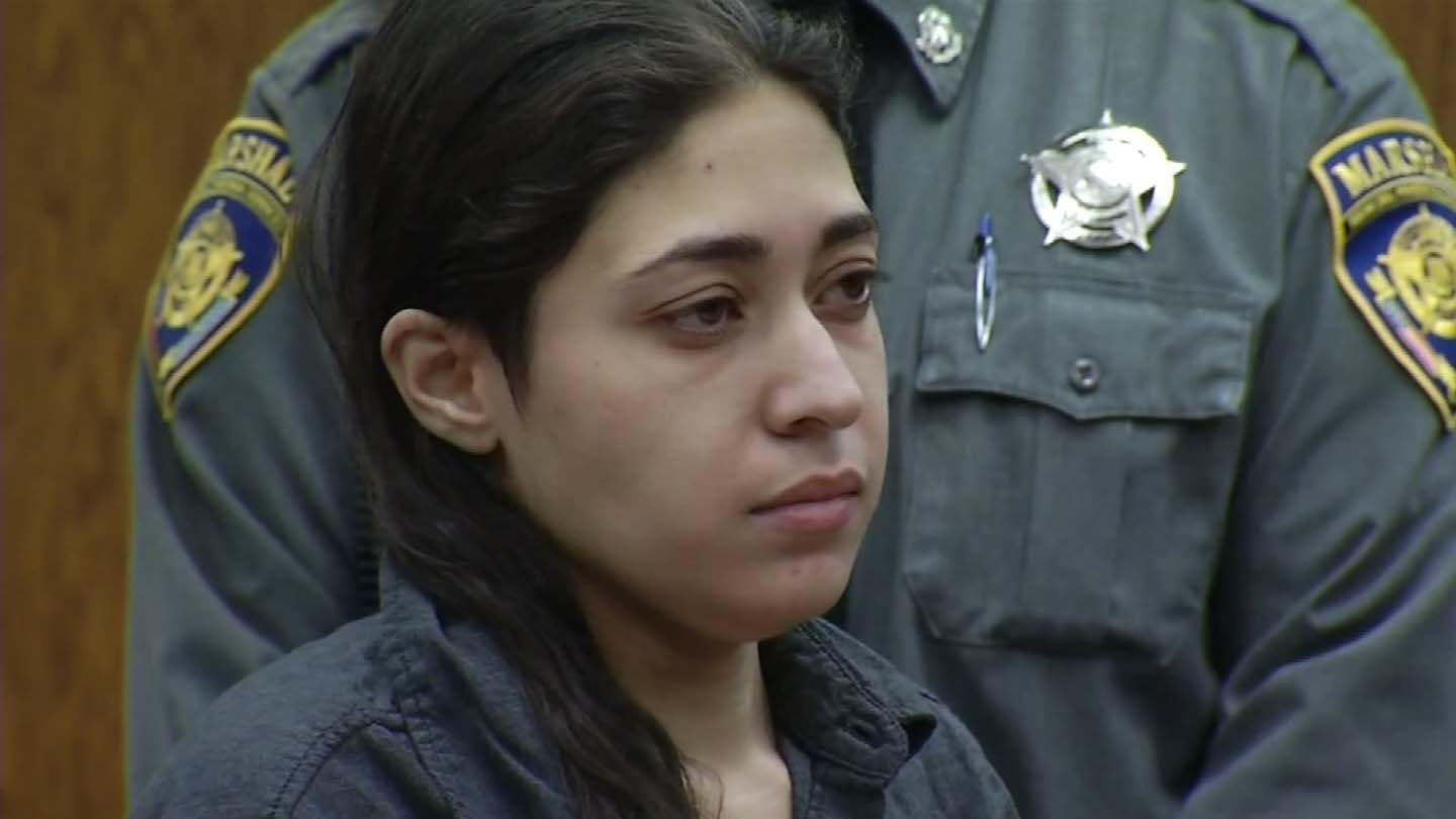 Veronica Reyes during a previous court appearance. (WFSB file photo)