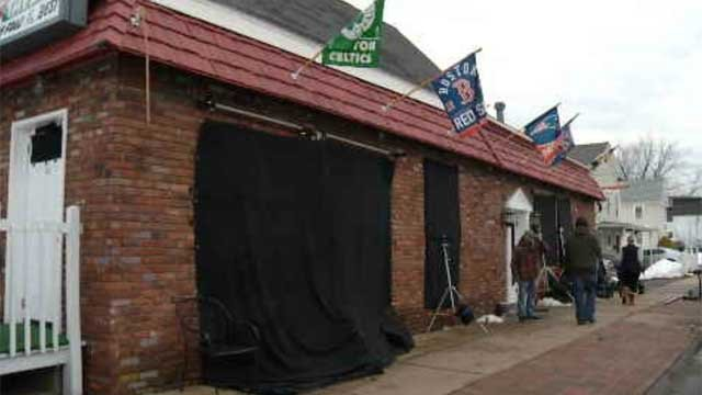 Action movie being filmed at Cromwell bar (WFSB)