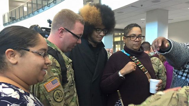 More than 50 soldiers from the 192nd Military Police Battalion came back from a nine month deployment in Cuba. (WFSB)
