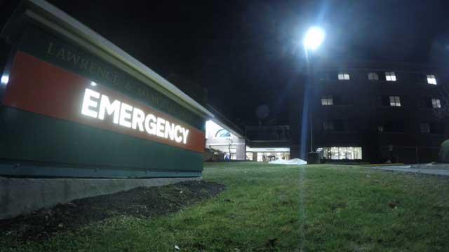 At least nine people were taken to Lawrence and Memorial Hospital on Thursday after overdosing on heroin. (WFSB)