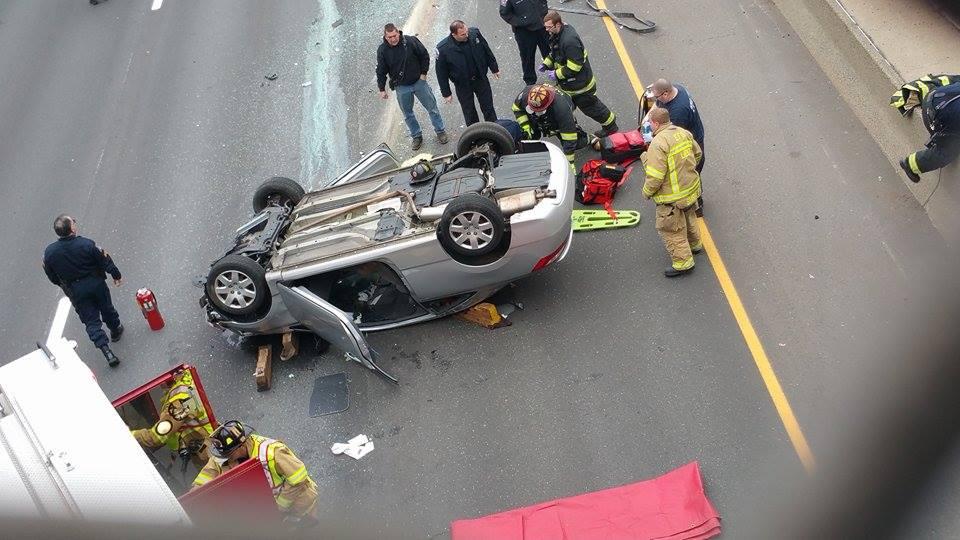 I-91 Crash  (iWitness Photo)