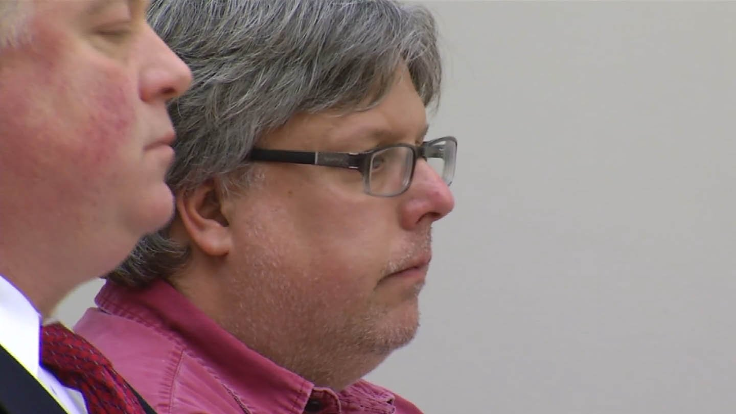 George Barnes in court on Friday. (WFSB photo)