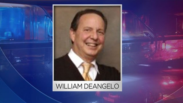 William DeAngelo is charged with assaulting a former employee.