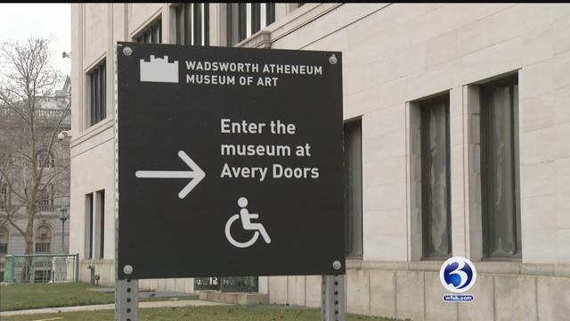 The Wadsworth Atheneum in Hartford. (WFSB)