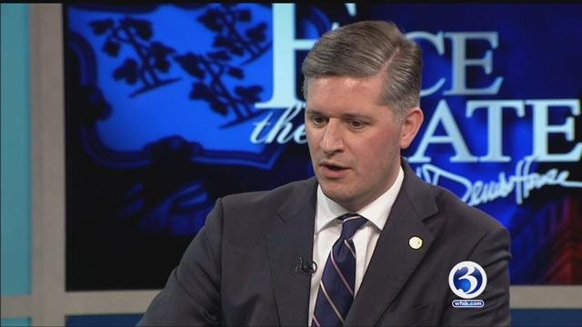 West Hartford Mayor Scott Slifka appears on Face the State. (WFSB)