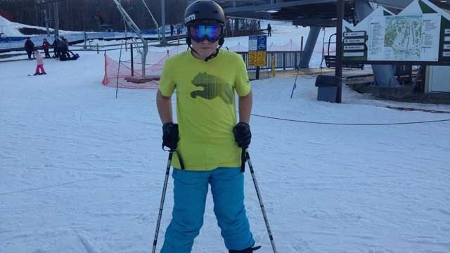 Some even braved the slopes in a t-shirt (WFSB)