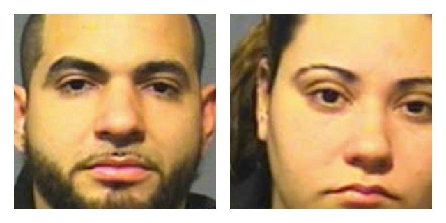 Ignacio Castro and Hendylz Marrero were charged with risk of injury to a minor. (Hartford Police Department)