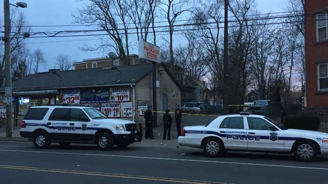 A body was located in Hartford on Monday afternoon, police said. (WFSB)