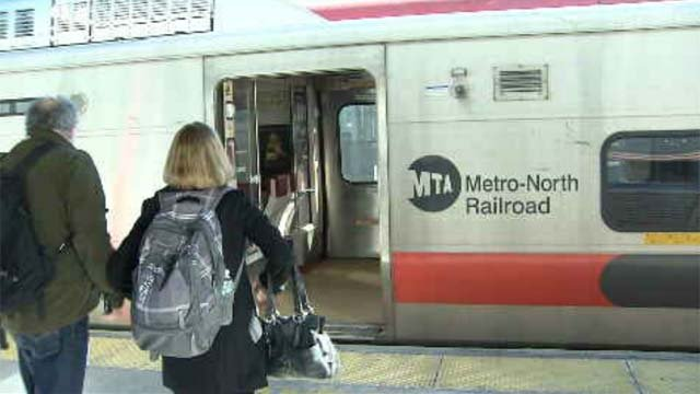 Ridership on the New Haven commuter rail line has reached an all-time record. (WFSB)