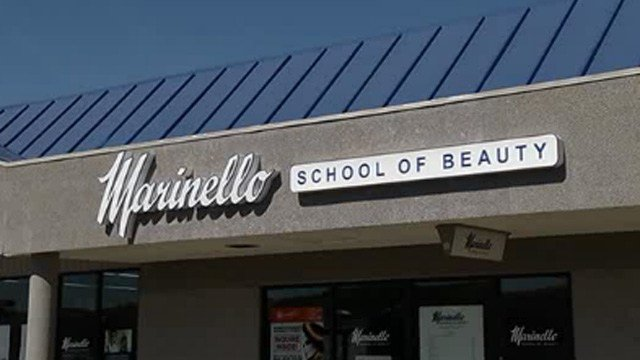 Help is being made available for Marinello Schools of Beauty students. (WFSB photo)
