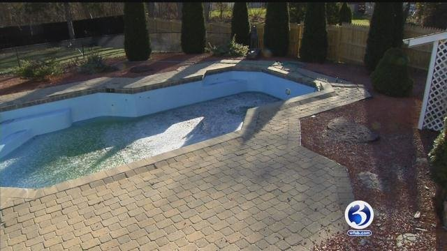 Sandra Cohen said she was ripped off by a man hired to fix her pool (WFSB)