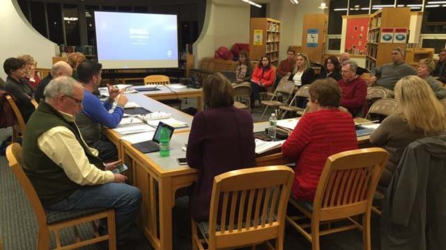 The Board of Education in Kent met on Thursday evening where the issue of arming teachers came up (WFSB)