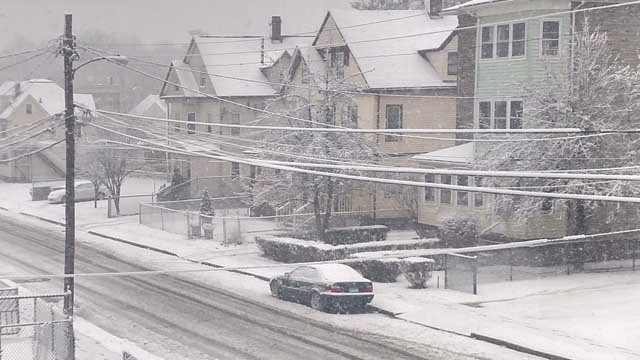 Hartford's mayor said a parking ban will be enforced at 6 p.m. on Friday. (Jon Highlife/iWitness photo)
