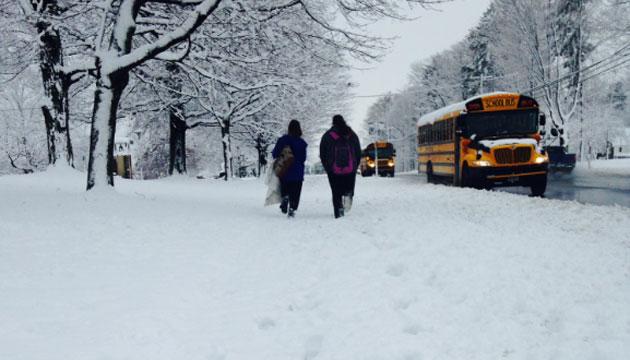 Students in Newington had school on Friday. (WFSB)
