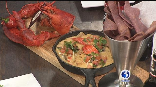 Nolita's showed us how to make Lobster Fundido on Saturday morning. (WFSB)