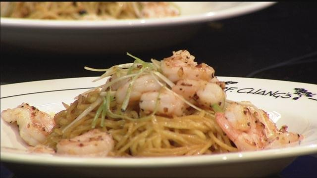 P.F. Changs made its Chinese New Yearlong life noodles for Eyewitness News on Sunday morning. (WFSB)