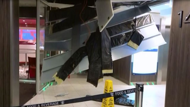 A storm rocked Royal Caribbean's 'Anthem of the Seas' for nearly 12 hours. (CNN)
