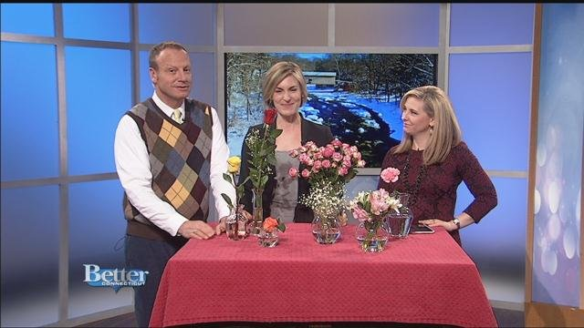 Professional decorator Julie Harrison has great ideas on the best flowers to give your sweetheart on Valentine's Day. (WFSB)