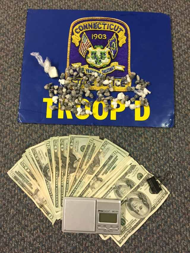 Evidence collected by troopers. (State police photo)