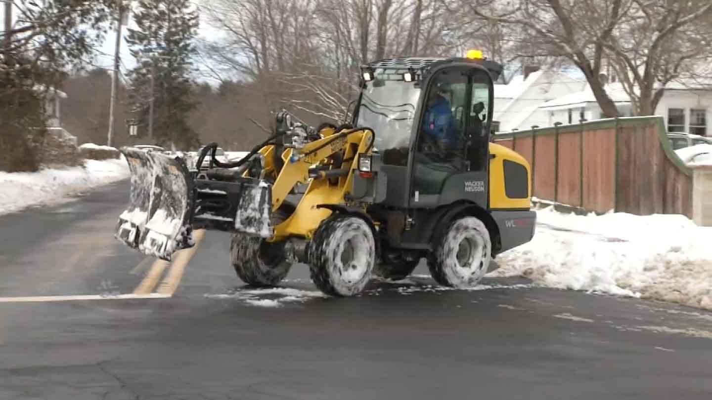 Waterford's new season-changing machine. (WFSB photo)