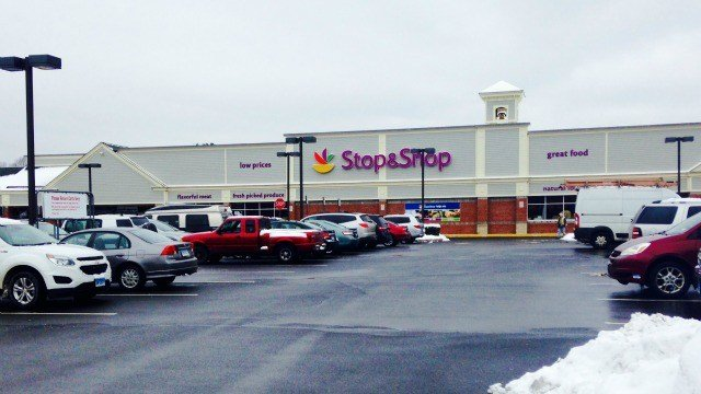 A hawk was found in the Stop & Shop in East Hampton. (WFSB)