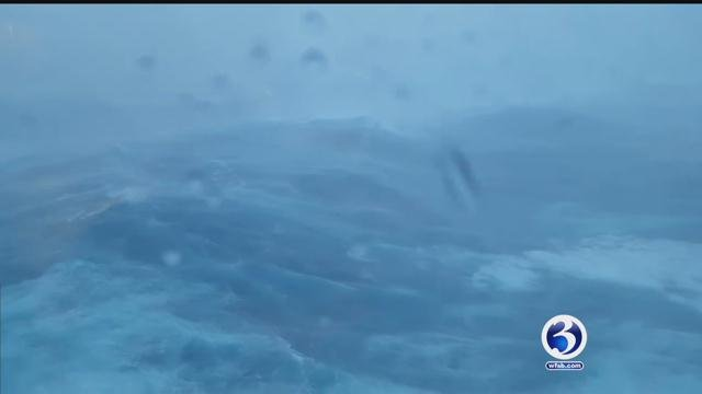 A Connecticut man spoke with Eyewitness News about his recent vacation aboard a cruise ship that was battered by a storm (CBS News)