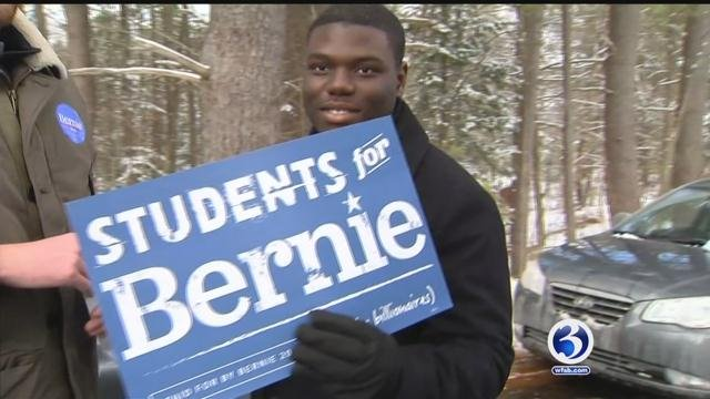 Quinnipiac University students attend primary in New Hampshire (WFSB)