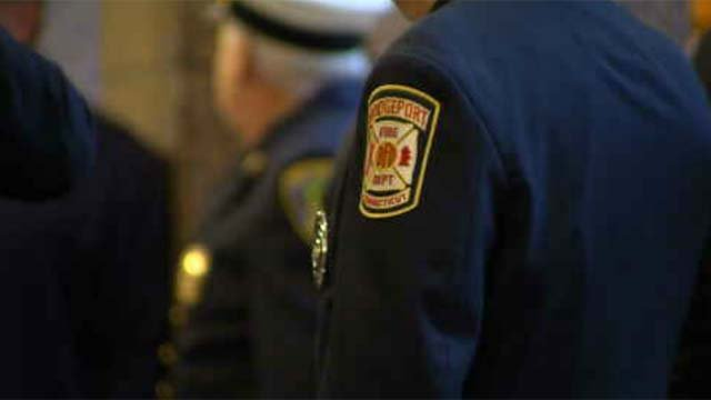 On Tuesday, several firefighters spoke out against a version of the proposed budget. (WFSB)