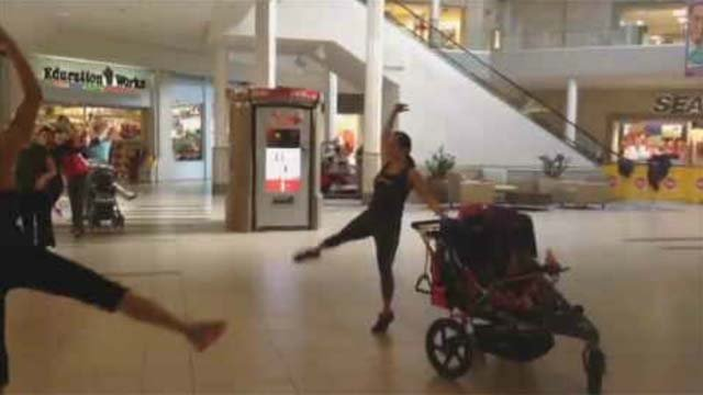 Fit mom group upset after being targets of hateful messages at Crystal Mall (Submitted)