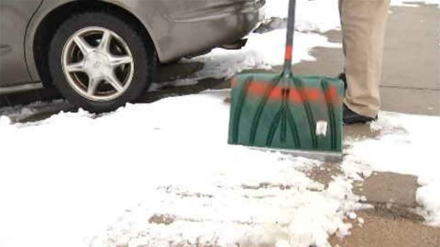 The Pedestrian Advisory Committee was set up last September and has the mission to clear the sidewalks of elderly citizens and the disabled. (WFSB)
