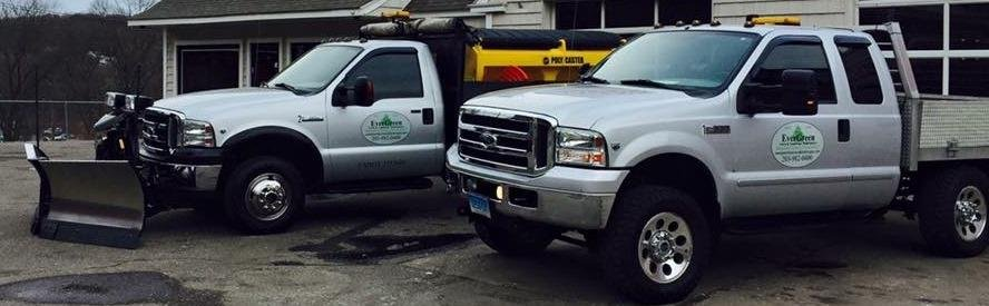 Watertown police are investigating after two plow trucks were stolen on Tuesday. (Watertown police)