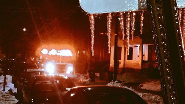 The fire broke out at about 6 p.m. at an apartment on Rossette Street. (WFSB)