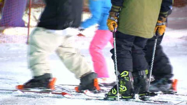 Skiers are reminded to dress for frigid temperatures this weekend (WFSB)